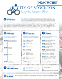 Bicycle Master Plan Project Fact Sheet