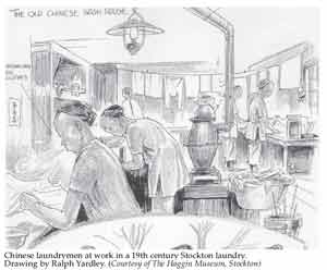 Chinese Wash house drawing