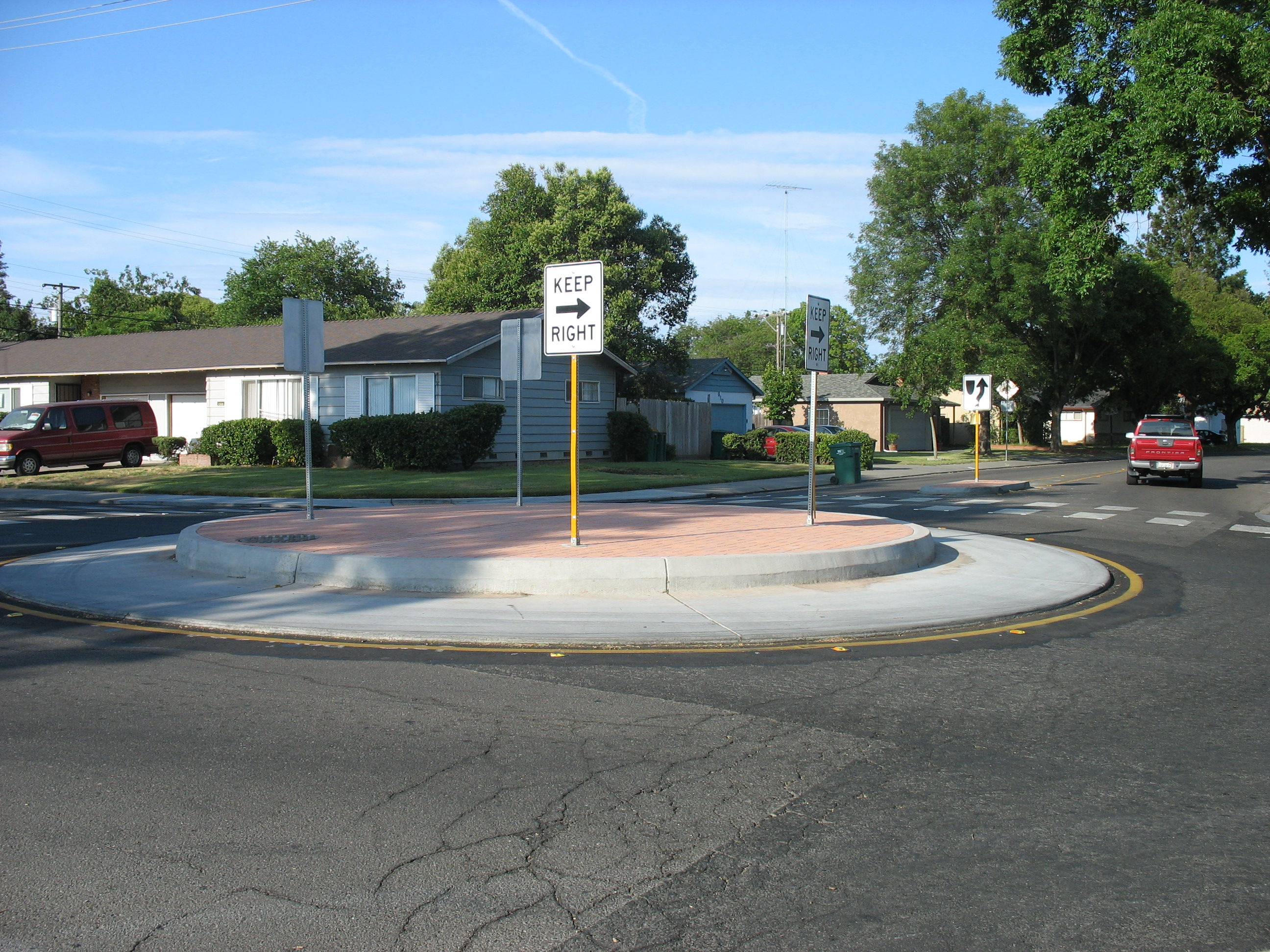 Traffic Circle Available Through Full Program